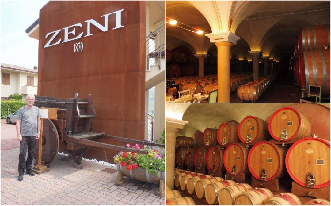 Návštěva rodinného vinařství ZENI – Bardolino